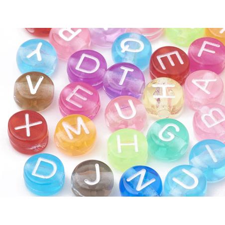 Acheter 200 perles alphabet - 4,99€ en ligne sur La Petite Epicerie - Loisirs créatifs