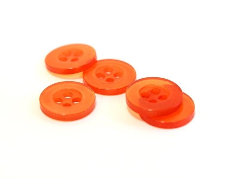 Acheter Bouton plastique 11 mm orange - 0,39€ en ligne sur La Petite Epicerie - Loisirs créatifs