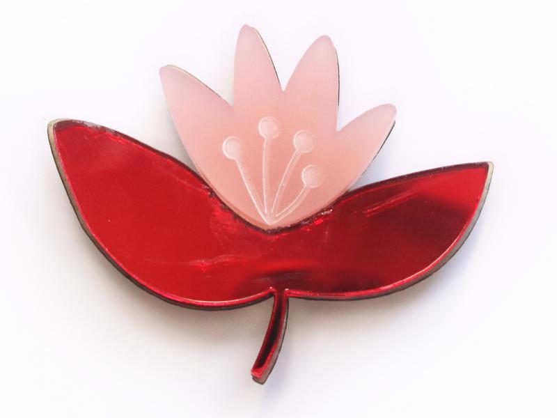 Acheter Kit broche fleur - Tulipe - 9,99€ en ligne sur La Petite Epicerie - Loisirs créatifs