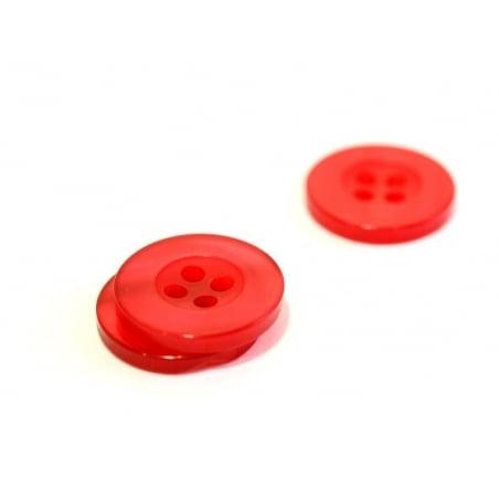 Acheter Bouton plastique 15 mm nacré rouge - 0,39€ en ligne sur La Petite Epicerie - Loisirs créatifs
