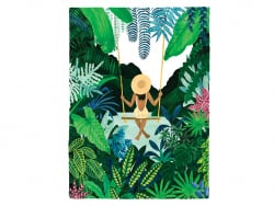 Acheter Affiche aquarelle - Balançoire - 29,7 x 39,7 cm - ATWS - 23,99€ en ligne sur La Petite Epicerie - Loisirs créatifs