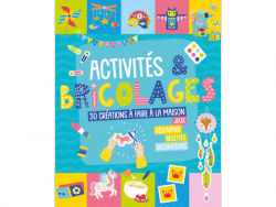 Acheter Livre Mon livre d'activités et bricolages - 30 réalisations à faire à la maison - 10,90€ en ligne sur La Petite Epic...