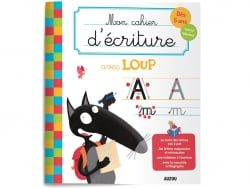 Acheter Mon cahier d'écriture avec Loup - Dès 5 ans - 4,95€ en ligne sur La Petite Epicerie - Loisirs créatifs