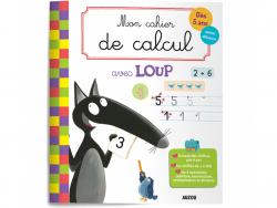 Acheter Mon cahier de calcul avec Loup - Dès 5 ans - 4,95€ en ligne sur La Petite Epicerie - Loisirs créatifs