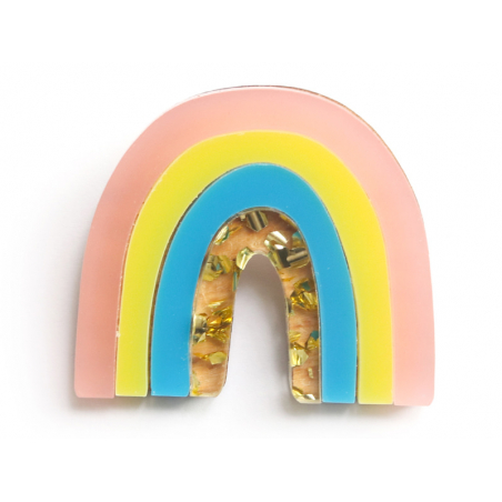 Acheter Kit broche - Arc-en-ciel coloré - 11,99€ en ligne sur La Petite Epicerie - Loisirs créatifs