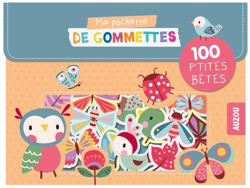 Acheter Pochette de 100 gommettes - P'tites bêtes - 4,36€ en ligne sur La Petite Epicerie - Loisirs créatifs