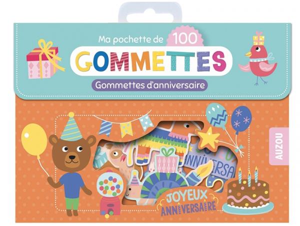 Acheter Pochette de 100 gommettes - Gommettes d'anniversaire - 4,95€ en ligne sur La Petite Epicerie - Loisirs créatifs