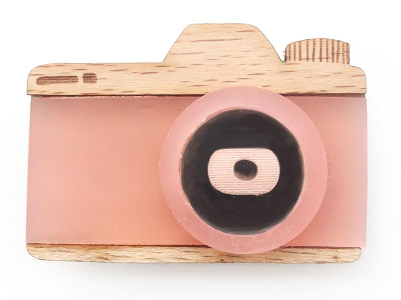 Acheter Kit broche - Appareil photo rose - 11,99€ en ligne sur La Petite Epicerie - Loisirs créatifs