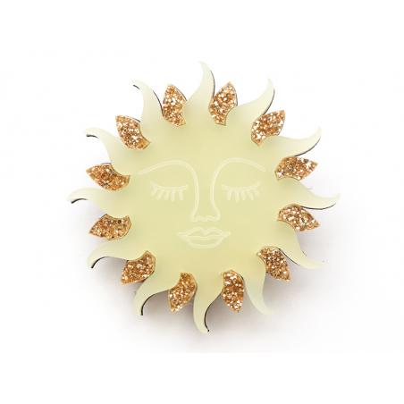 Acheter Kit broche - Soleil - 9,99€ en ligne sur La Petite Epicerie - Loisirs créatifs