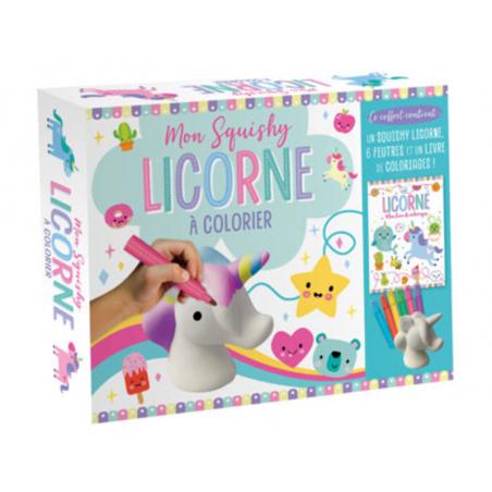 Acheter Coffret Mon squishy licorne à colorier - 12,00€ en ligne sur La Petite Epicerie - Loisirs créatifs