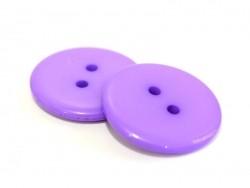 Bouton plastique 23 mm violet