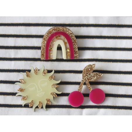 Acheter Kit broche - Arc-en-ciel or - 11,99€ en ligne sur La Petite Epicerie - Loisirs créatifs