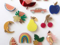 Acheter Kit broche fruit - Poire - 9,99€ en ligne sur La Petite Epicerie - Loisirs créatifs