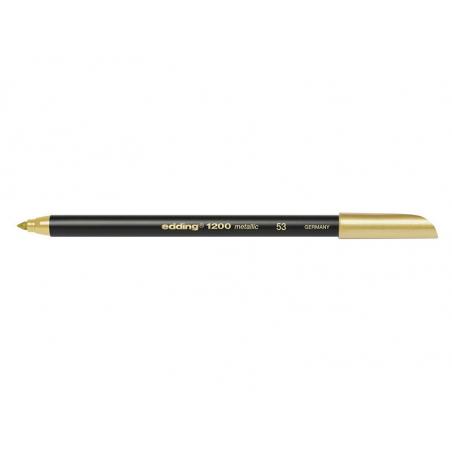 Acheter 1 feutre de coloriage Edding 1200 - couleur doré - 1,79€ en ligne sur La Petite Epicerie - Loisirs créatifs