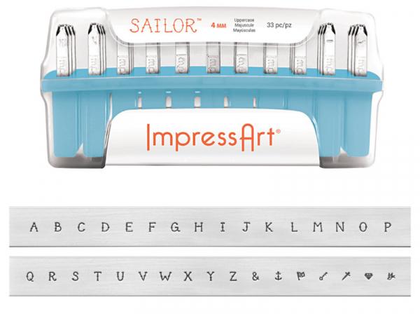 Acheter Tampons à frapper - lettres majuscules Sailor - 73,99€ en ligne sur La Petite Epicerie - Loisirs créatifs