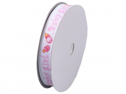 Acheter Bobine ruban 1.5cm x 18m - Baby Girl - 7,99€ en ligne sur La Petite Epicerie - Loisirs créatifs