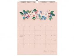 Acheter Calendrier floral année 2021 - Rifle Paper - 32,99€ en ligne sur La Petite Epicerie - Loisirs créatifs
