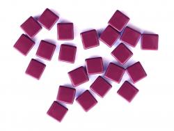 Acheter Lot de 10 perles tuiles carrées en métal de 7x7 mm - Prune - 3,99€ en ligne sur La Petite Epicerie - Loisirs créatifs