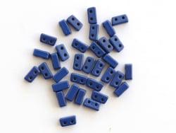 Acheter Lot de 10 perles tuiles fines en métal de 3x7 mm - Bleu marine - 3,49€ en ligne sur La Petite Epicerie - Loisirs cré...