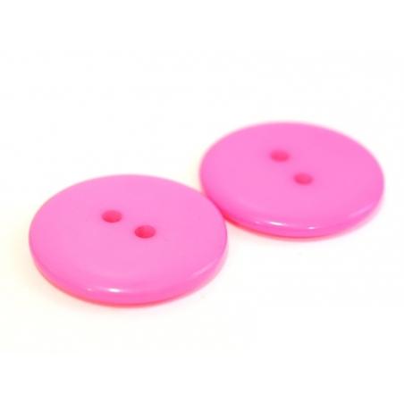 Acheter Bouton plastique 23 mm rose bonbon - 0,39€ en ligne sur La Petite Epicerie - Loisirs créatifs
