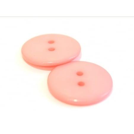Acheter Bouton plastique 23 mm rose pêche - 0,39€ en ligne sur La Petite Epicerie - Loisirs créatifs