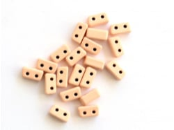 Acheter Lot de 10 perles tuiles fines en métal de 3 x 7 mm - Beige - 3,49€ en ligne sur La Petite Epicerie - Loisirs créatifs