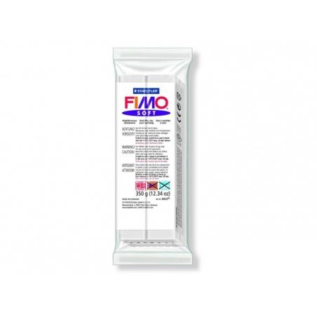 Fimo soft - white no. 0 (350 g)