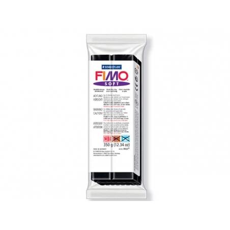 Pâte Fimo Noir 09 Soft 350 g