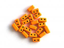 Acheter Lot de 10 perles tuiles fines en métal de 3 x 7 mm - Orange - 3,49€ en ligne sur La Petite Epicerie - Loisirs créatifs