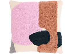 Acheter Kit punch needle - Coussin avec motifs rose/marron - 44,99€ en ligne sur La Petite Epicerie - Loisirs créatifs