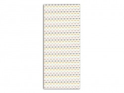 Coupon tissu à motifs - Arlequin