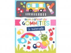 Acheter Mon cahier de gommettes - La maternelle - 5,50€ en ligne sur La Petite Epicerie - Loisirs créatifs
