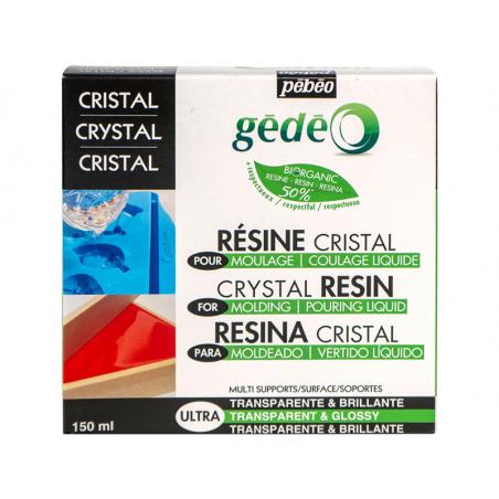 Acheter Résine cristal biorganic - gédéo 150 ml - 17,89€ en ligne sur La Petite Epicerie - Loisirs créatifs