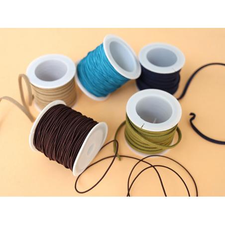 Acheter Bobine 5m de cordon simili cuir 4 mm - Marron - 5,99€ en ligne sur La Petite Epicerie - Loisirs créatifs