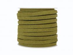 Acheter Bobine 5 m de cordon simili cuir 4 mm - Vert kaki - 5,99€ en ligne sur La Petite Epicerie - Loisirs créatifs