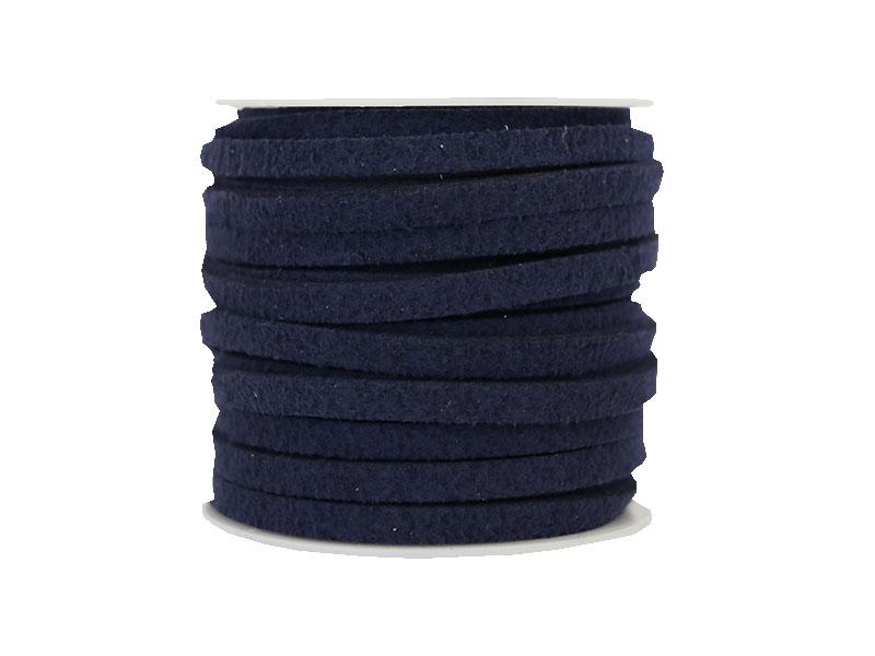Acheter Bobine 5 m de cordon simili cuir 4 mm - Bleu marine - 5,99€ en ligne sur La Petite Epicerie - Loisirs créatifs