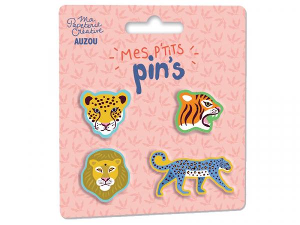 Acheter Lot de 4 pins Mes p'tits pin's - Auzou - 7,95€ en ligne sur La Petite Epicerie - Loisirs créatifs