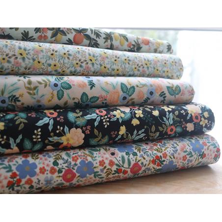 Acheter Tissu coton Rifle Paper - Citrus Floral Mint - 2,09€ en ligne sur La Petite Epicerie - Loisirs créatifs