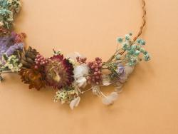 Acheter KIT MKMI - Ma couronne de fleurs séchées - 16,99€ en ligne sur La Petite Epicerie - Loisirs créatifs