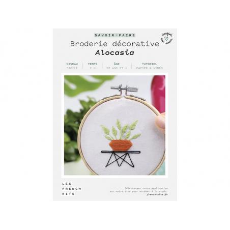 Acheter Kit de broderie décorative - Alocasia - Les French Kits - 15,99€ en ligne sur La Petite Epicerie - Loisirs créatifs