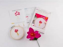 Acheter Kit de broderie décorative - Bouquet de fleurs - Les French Kits - 15,99€ en ligne sur La Petite Epicerie - Loisirs ...