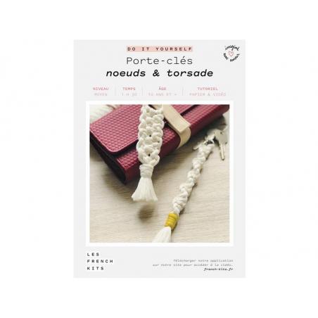 Acheter Kit porte-clés - Noeuds et torsade - Les French Kits - 13,99€ en ligne sur La Petite Epicerie - Loisirs créatifs