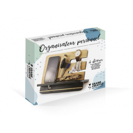 Acheter Organisateur personnel à décorer - 11,99€ en ligne sur La Petite Epicerie - Loisirs créatifs