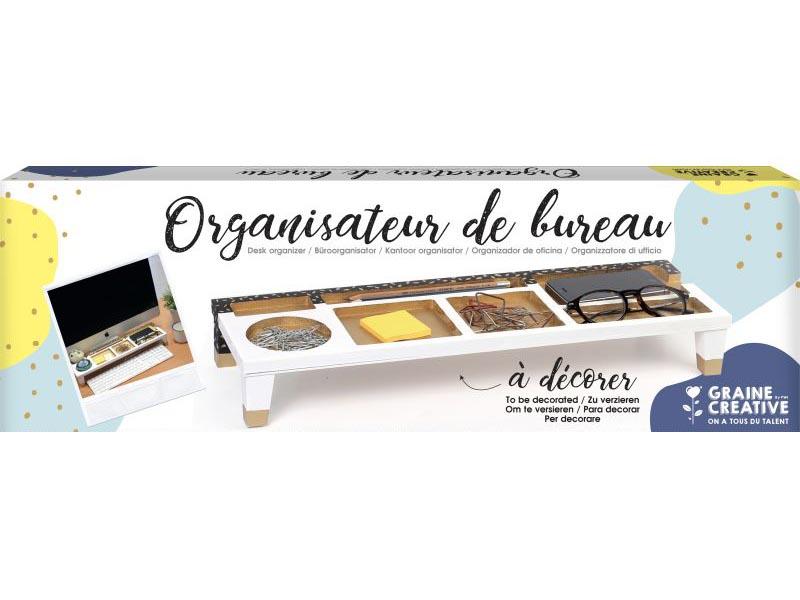 Acheter Organisateur de bureau à décorer - 17,99€ en ligne sur La Petite Epicerie - Loisirs créatifs