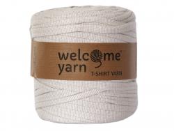 Acheter Grande bobine de fil trapilho - blanc et chevrons beiges - 7,90€ en ligne sur La Petite Epicerie - Loisirs créatifs