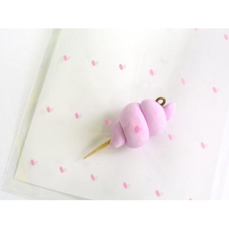 Acheter 1 sachet plastique adhésif - Petits coeurs - 0,29€ en ligne sur La Petite Epicerie - Loisirs créatifs