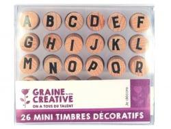 Acheter Lot de 26 mini timbres décoratifs - 9,99€ en ligne sur La Petite Epicerie - Loisirs créatifs