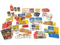 Acheter Assortiment de 50 produits alimentaires miniatures - 20,99€ en ligne sur La Petite Epicerie - Loisirs créatifs