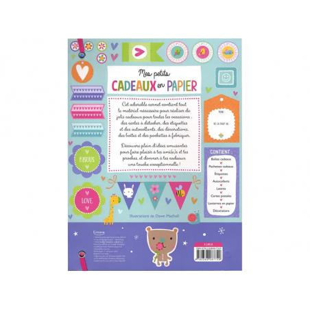 Acheter Livre Mes petits cadeaux en papier - Dawn Machell - 11,95€ en ligne sur La Petite Epicerie - Loisirs créatifs