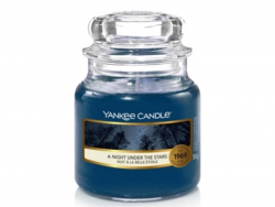 Acheter Bougie Yankee Candle - Nuit à la belle étoile / A night under the stars - Petite jarre - 11,89€ en ligne sur La Peti...